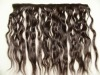 virgin brazilian pu hair weft