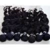 virgin brazillian hair weft natural loose wave weaving