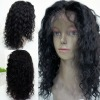 virgin hair remy brazilian hair front lace wigs with French transparent lace