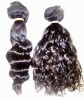 virgin remy hair peruvian hair weaving wavy curly