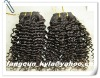 water wave human remy hair extensions/weave natural color