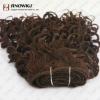 wavy/curly hair weaving/weft