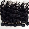 wavy raw remy hair new style machine weft