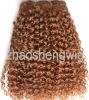 whole sale cheap afro curl 27# synthetic hair weaving