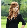 whole sale long curl synthetic wigs