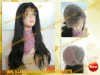wholesale 100% chinese virgin hair natural color natural straight full lace wig in stock