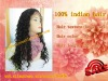 wholesale 100% indian remy hair loose curl long full lace wig in stock