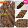 wholesale and retail  brazilian hair weft natural wave