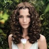 wholesale beautiful charming wave human hair wigs