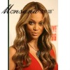 wholesale long beautiful and charming curl human hair wig