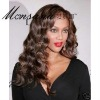 wholesale long curl human hair wig