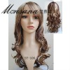 wholesale long wave women human hair lace wigs