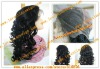 wholesale loose curl 100% indian hair full lace wig for black woman