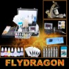 wholesale professional tattoo great ink .1machines .needle power supply kit