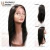 yaki style high quality human hair lace wig