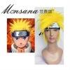 yellow spike Naruto Uzumaki Cosplay/doll/party Wig